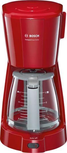 BOSCH TKA3A034 ΚΑΦΕΤΙΕΡΑ ΦΙΛΤΡΟΥ RED - saveit.gr - Ισχυρό θερμαντικό στοιχείο 1100 Watt (max) για πλήρες άρωμα SafeStorage: Ασφαλής αποθήκευση της γυάλινης κανάτας καφετιέρες Φίλτρο swing-out για εύκολη αφαίρεση και καθαρισμό Drip stop: αποφυγή στάλαξης κατά την αφαίρεση της κανάτας Auto-off: Κρατάει τον καφέ ζεστό και παρέχει πλήρη ασφάλεια λειτουργίας Ισχύς: 900-1100 W Κανάτα που διατηρεί το άρωμα για 10/15 φλιτζάνια (1.25 l) Σύστημα βρασμού για βέλτιστη γεύση Drip stop Ενσωματωμένη…