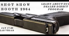 Who's excited? Can't wait till next week! #shotshow #clipdraw