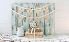 Knick of Time: Dictionary Page Pennant Banners - HOME, TIME, LOVE and NEST - Printable Tutorial