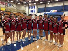 The West Carrollton High School Cheerleaders!