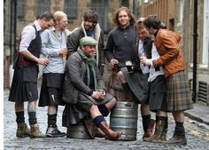 Men, kilts and beer.  A few of my favorite things...