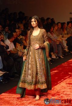 Anarkali by Sabyasachi. I love this style, though I would choose cottons and other natural fibers. A simple dress pattern, too.
