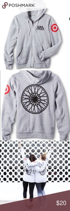 SALE  Soul Cycle for Target Zip Up Hoodie Worn Once, in perfect condition Soul Cycle for Target Jackets & Coats