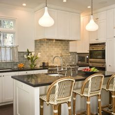 Gray Subway Tile Kitchen Design, Pictures, Remodel, Decor and Ideas - page 3