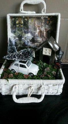 Kerst in een koffer