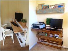 23 diy computer desk ideas that make more spirit work - Computer Desk Ideas