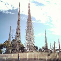 Watts Towers of Simon Rodia State Historic Park à Los Angeles, CA
