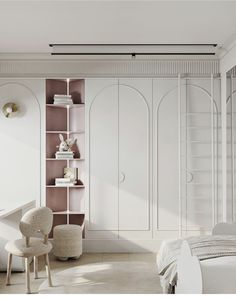 Wardrobe Door Designs, Closet Designs, Cool Kids Bedrooms, Girls Bedroom, Room Interior, Home Interior Design, Casa Magna, Walking Closet, Wardrobe Closet