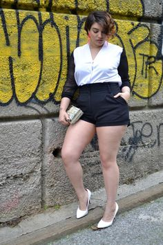 Top Ten Beautiful and Famous Plus Size Models - Plus Size Fashion Trends Curvy Girl Outfits, Curvy Women Fashion, Plus Size Fashion, Plus Size Beauty, Beauty Full Girl, Nadia Aboulhosn, Look Plus Size, Bollywood Girls, Voluptuous Women