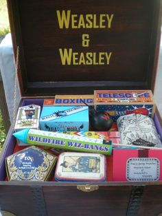 woozelmom - RE: New (actually old) Project Almost Complete - weasley's wizard wheezes knitting trunk!