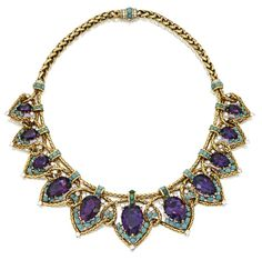 Necklace Cartier, 1949 Sotheby's - OMG that dress!