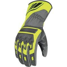 ICON Citadel Waterproof Glove - Hi-Viz Yellow