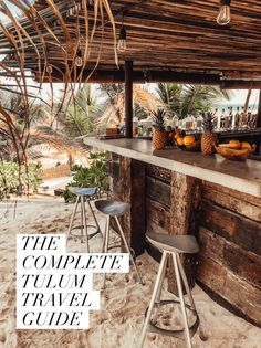 Space Guide A Complete Guide To Tulum: Mexico's Most Stylish Beach Getaway - Live Like It's the Weekend - A stylish Tulum Mexico travel guide: Everything you need to know about Tulum before planning your next trip to this beautiful beach town.
