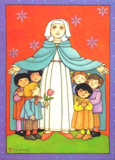 Our Lady of Refuge by Tomie dePaola, Greeting card by Bridge Building Images (First Communion)