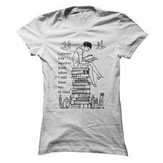 I love Books T Shirt, Hoodie, Sweatshirt
