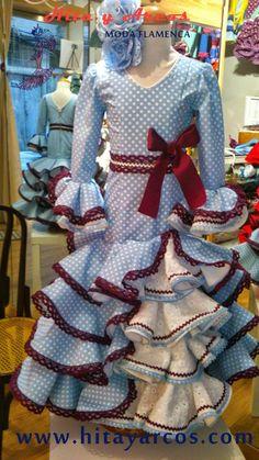 COLECCIÓN NIÑA 2016 - MODA FLAMENCA 2016, (Trajes Flamenca Granada, Venta de trajes de Flamenco, vestidos de gitana, vestido de sevillanas)