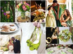 Princess and the Frog Themed Wedding Inspiration Board