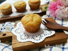 [レシピ]しっとりもちふわバナナマフィン♡/ジンクスってありますか? |ようこそ☆kaburaキッチン