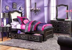 zebra girls rooms | Our zebra print looks amazing when it\'s paired ...