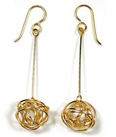 Tumbleweed OLE Earrings - Available in sterling silver or gold-filled.