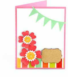 Silhouette Online Store - View Design #58921: a2 flower card