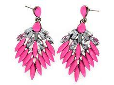 Glamour Girl Designs #vintage-style #pierced #earrings in rose
