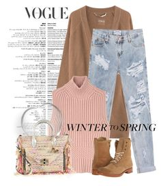 """Winter to Spring Layers"" by andrejae ❤ liked on Polyvore featuring 81hours, One Teaspoon, Diesel Black Gold, Frye, Diane Von Furstenberg and Wintertospring"