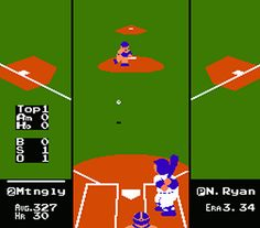 R.B.I. Baseball (NES)   8 Awesome Forgotten Video Games Of My '80s Childhood    Dude, I used to play the hell out of this game back in the day!