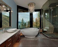 Latest Bathroom Design Trends | home | Pinterest