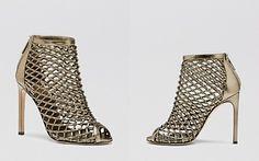 Gucci Booties - Eline Caged High Heel