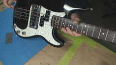 Fender Jazz Bass with Modifications..nice Frankenstein...mods are us