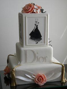 Elegant Dior Cake