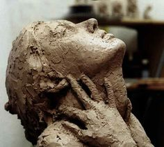 Stunning clay sculpture by Northern California artist Candice Bohannon