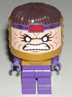 LEGO MODOK MINIFIGURE Super Hero Big Head 76018 #LEGO
