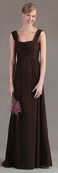 Top 10 Flirty and Fun Brown Bridesmaid Dresses make it purple ...