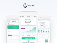 Zuper App by Mateusz Piatek