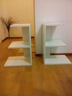Mesa De Luz En Melamina, Diseños Propios! Mesa Para Telefono - $ 160,00