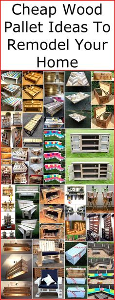 This pallet furniture is cheap in cost, have long stability and easy to craft with little concentration. With these pallet ideas, you can create an outstanding and wide range of wooden product for your place. Before crafting any wood pallet idea, make sure that you have cleaned the pallets before.