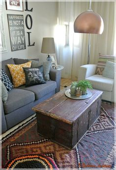 Living room/ Boheme Interior