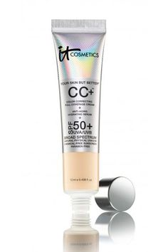 The amount of coverage a single pump provides. The medium-coverage cream feels like moisturizer when buffed into the skin, but has a natural, dewy finish and can be layered for more coverage. Plus, SPF 50! Need I
