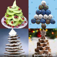 Recetas dulces con forma de árbol de Navidad http://www.guiainfantil.com/articulos/navidad/recetas/recetas-dulces-con-forma-de-arbol-de-navidad/