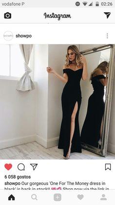 Matrimonio chiqui Grad Dresses, Mermaid Prom Dresses, Homecoming Dresses, Evening Dresses, Prom Gowns, Dress Prom, Elegant Dresses, Beautiful Dresses, Cute Dresses