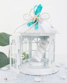 Bomboniere Matrimonio Lanterna Pagoda con Stella Marina in vetro e metallo, confezionata e pronta da dare ai vostri invitati!