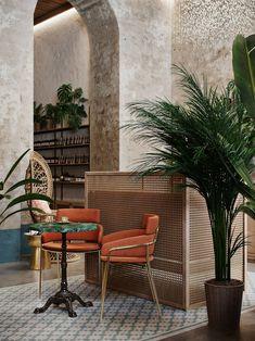 restaurant seating Antiqu on Behance - Future stor - Salon Interior Design, Interior Design Software, Interior Design Images, Best Interior, Interior Decorating, Spa Interior, Decoration Restaurant, Restaurant Seating, Restaurant Design