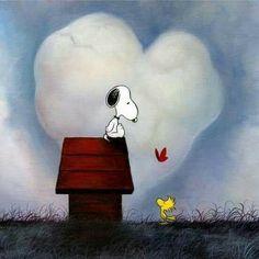 Snoopy • Heart Cloud