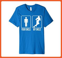 Mens Premium Light T-Shirt - Your Uncle vs. My Football Uncle XL Royal Blue - Relatives and family shirts (*Partner-Link)