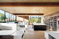 Bates Masi's Office in East Hampton: Now a True Extension of the Firm's Style