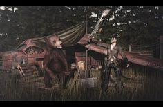 Man vs Wild #SL #SecondLife #PourSLHomme #MRSLFeed