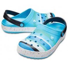 5f5717630 Crocs Ocean Blue Relaxed Fit Women s Slip On Ladies Slips