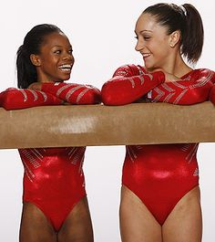 Gabby Douglas (left) and Jordyn Wieber lead a heavily favored U.S. gymnastics team.